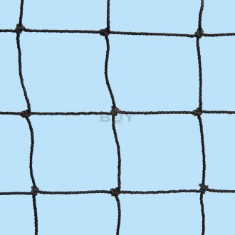 Cat Safety Net, black - square mesh shape, 30mm mesh