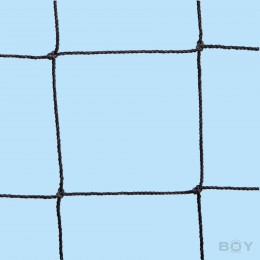 Cat Protection Net in 50mm mesh, yarn 1.0mm Ø -  black
