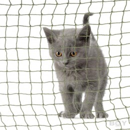 Cat Balcony Net in 20mm mesh, thread diameter 1.2mm - strong