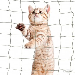 Cat Balcony Net in 50mm mesh, thread diameter  1.2mm - strong