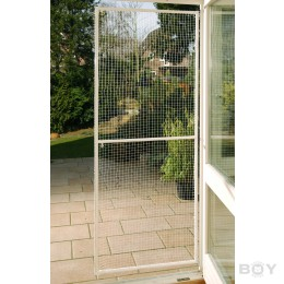 Net Frame Door  -  for balconies and patios  -  Sizes according to your specification